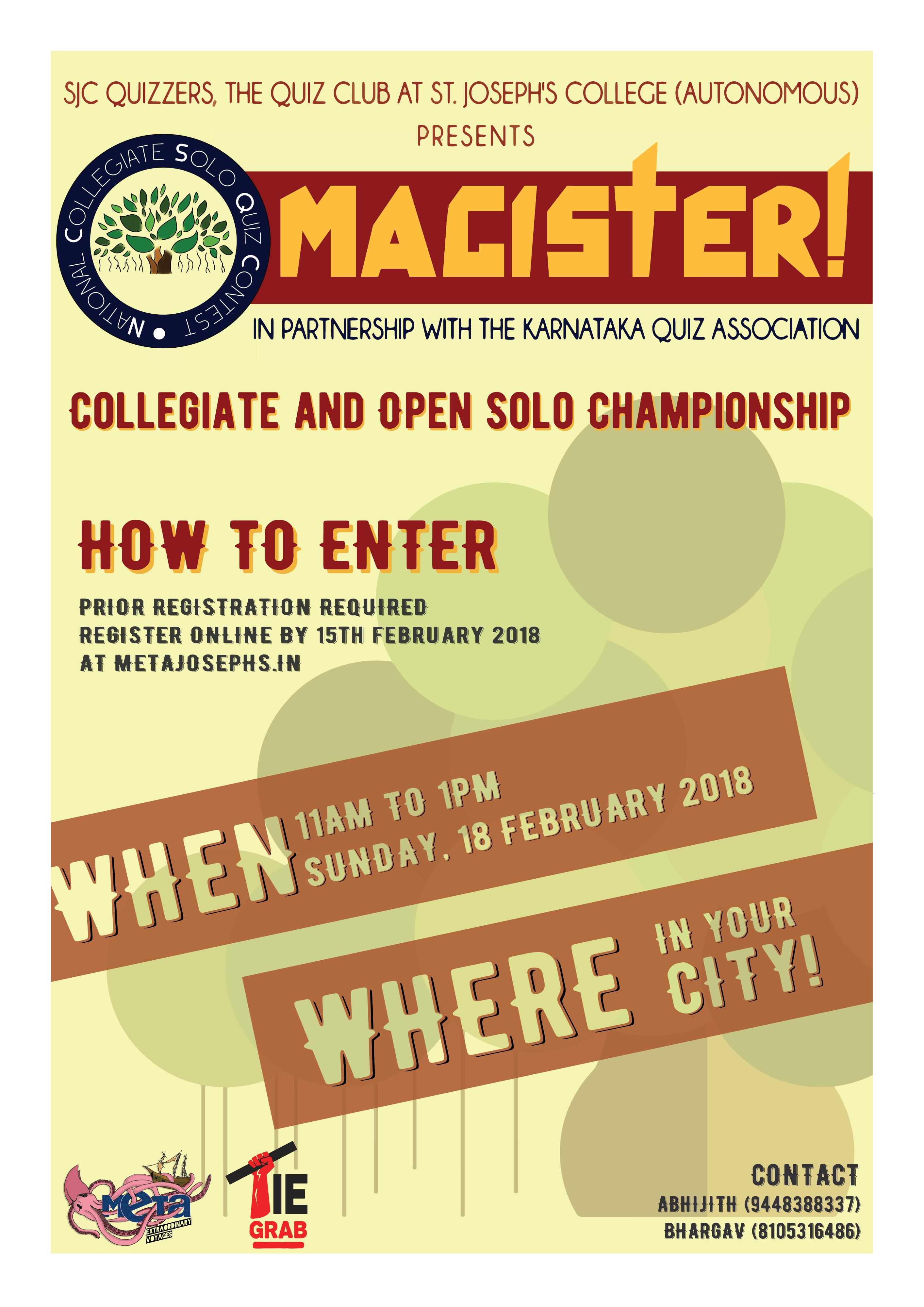 Magister 2018